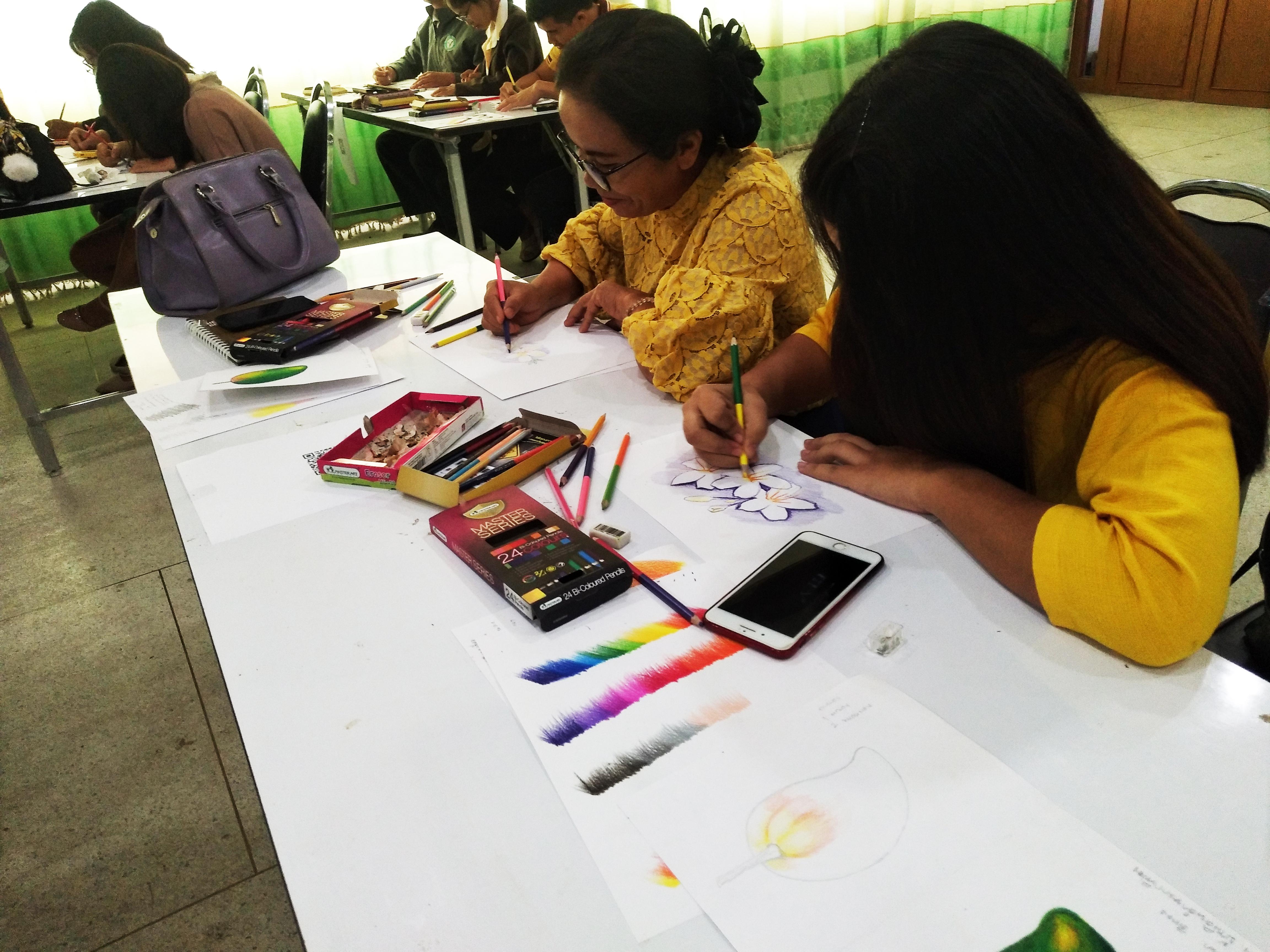 ภาพบรรยากาศคุณครูผู้เข้าร่วมอบรม Art Teacher Seminar